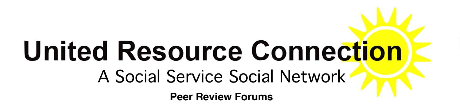 Peer Review Forums